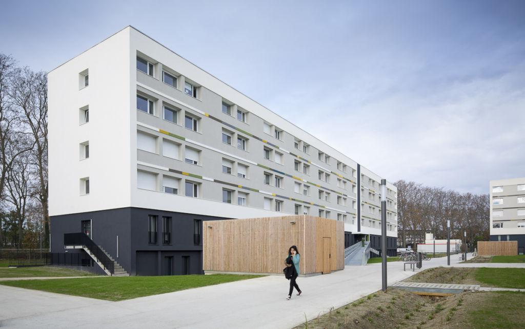 Résidence étudiante Isae à Toulouse - Client : LCR Architectes
