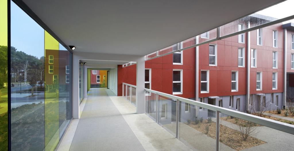 Résidence étudiante Village IV à Pessac - Client : Architecte François Guibert