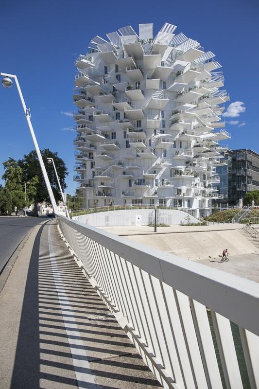 L'Arbre Blanc à Montpellier - Client : Kawneer