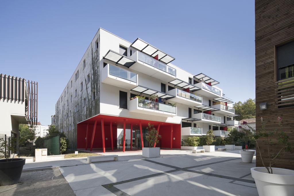 Patio Saint Michel à Toulouse - Client : LCR Architectes