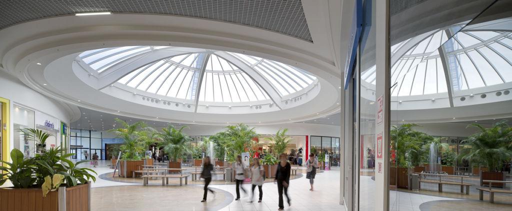 Centre commercial Grand Mail à Saint Paul les Dax - Client : Kawneer
