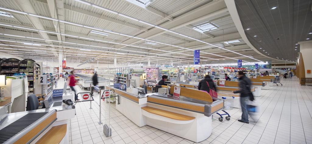 Centre commercial à Beaune - Client : Philips Lighting