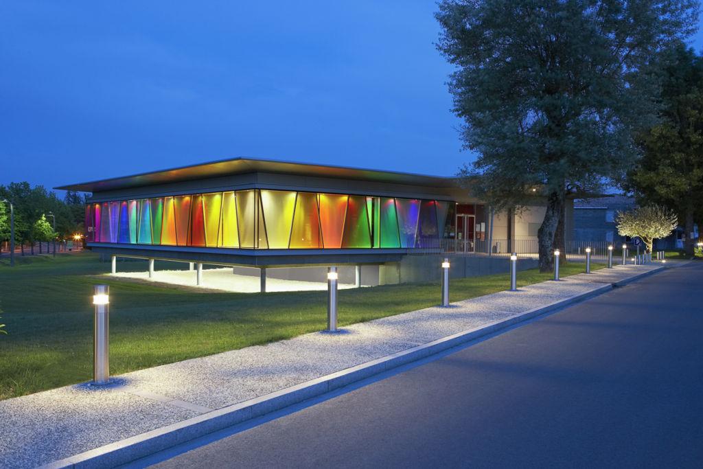 Médiathèque à Artigues près Bordeaux - Clients : Kawneer - Architecte : François Guibert