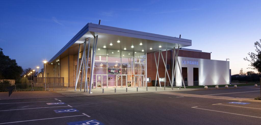 Salle de spectacles Le Phare de Tournefeuille - Client: Architecte JF Martinie