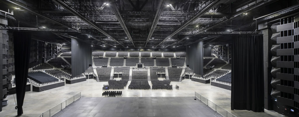 Salle Arena à Floirac - Client : Bouygues Construction