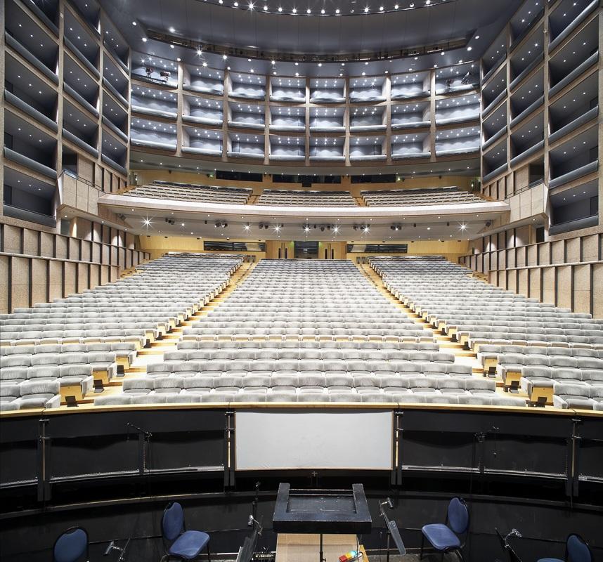 Salle Le Corum à Montpellier - Client : Spie