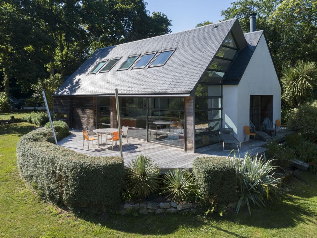Villa à Plomelin - Client : Kawneer