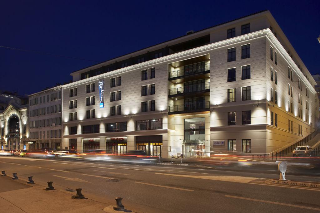 Hôtel Radisson à Marseille - Client : Vinci Immobilier