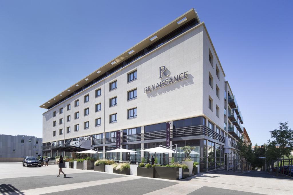 Hotel Renaissance Mariott à Aix en Provence - Client : Kawneer