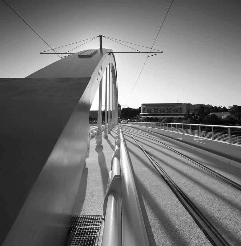 Pont Confluences d'Angers - Client : Lavigne&Cherron