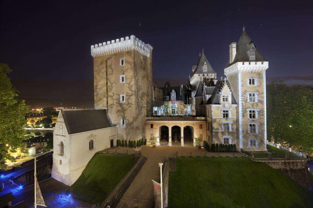 Château de Pau - Client : Philips Lighting - Concepteur lumière : Les Eclairagistes Associés