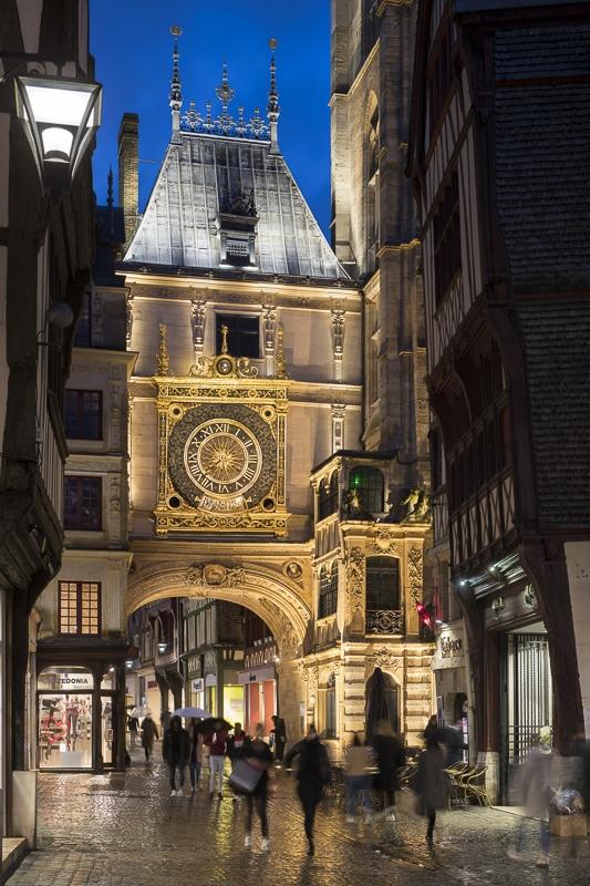 Gros Horloge à Rouen - Clients : Citeos/Eclipse Diffusion/Lumenpulse
