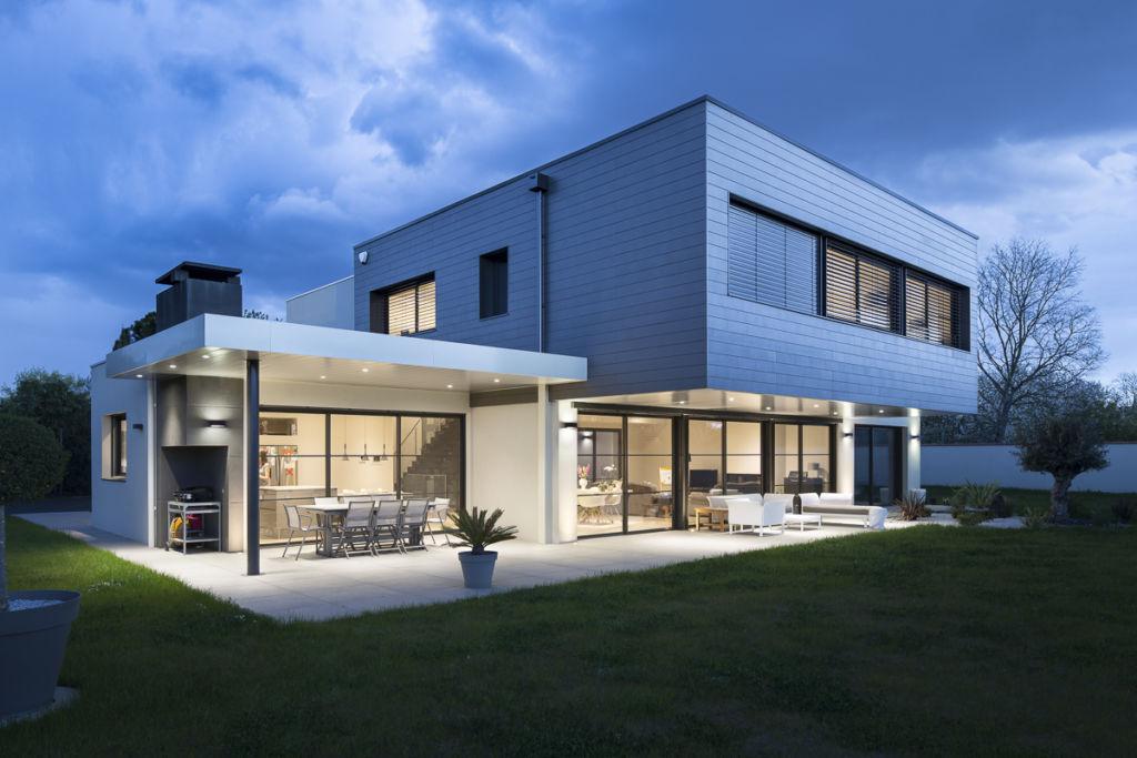 Villa à Tournefeuille - Client : KAWNEER - Architecte : Daniel Morice