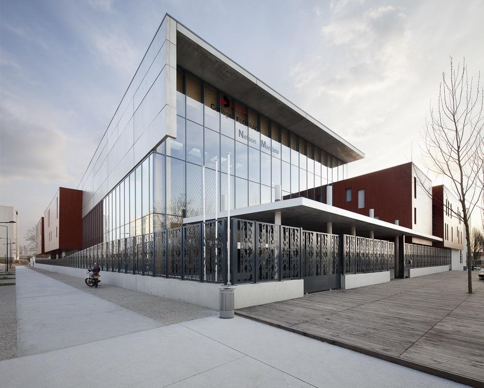 Collège Nelson Mandela à Floirac - Client / Architecte : François Guibert