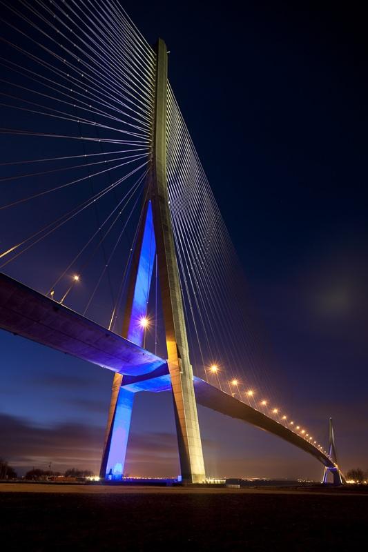 Pont de Normandie à Honfleur - Client : Architecte Lavigne