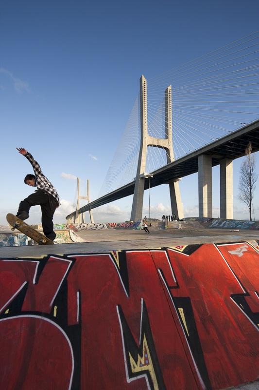 Pont Vasco de Gama à Lisbonne (Portugal) - Client : Vinci - Architectes : Lavigne et Cheron