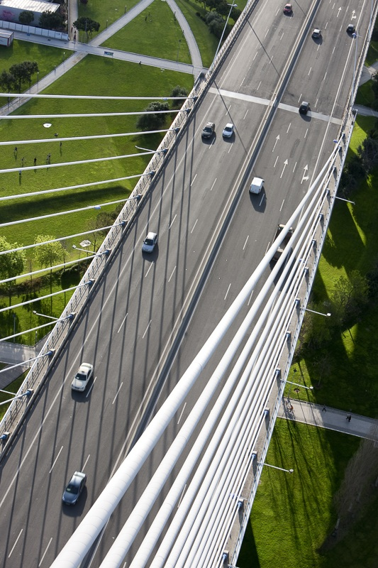 Pont Vasco de Gama à Lisbonne (Portugal) - Client : Vinci - Architectes Lavigne et Cheron