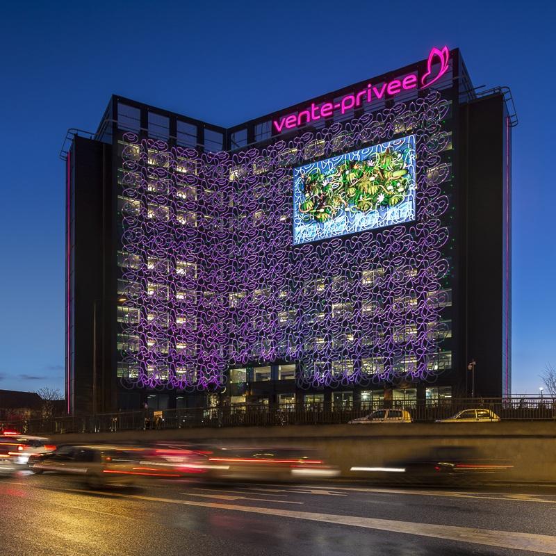 Immeuble de bureaux Vente Privée à Saint Denis - Client : Philips Lighting
