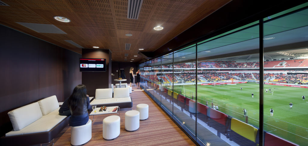 Stade MM Arena, Le Mans - Client : Philips