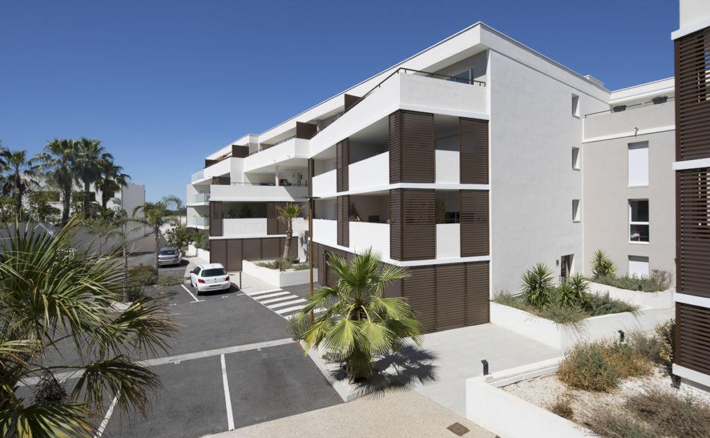 Résidence La Palmeraie, Baillargues - Client : Groupe Flot