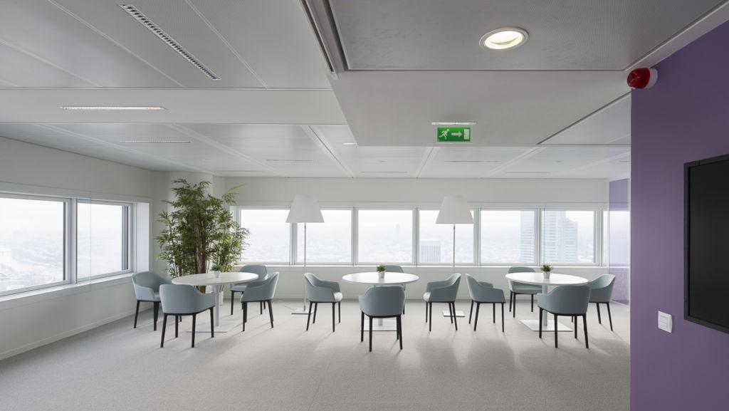 Show Room bureaux Icade à La Défense - Client : Philips Lighting