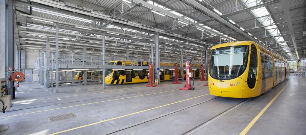 Tramway de Mulhouse - Client : DRLW Architectes