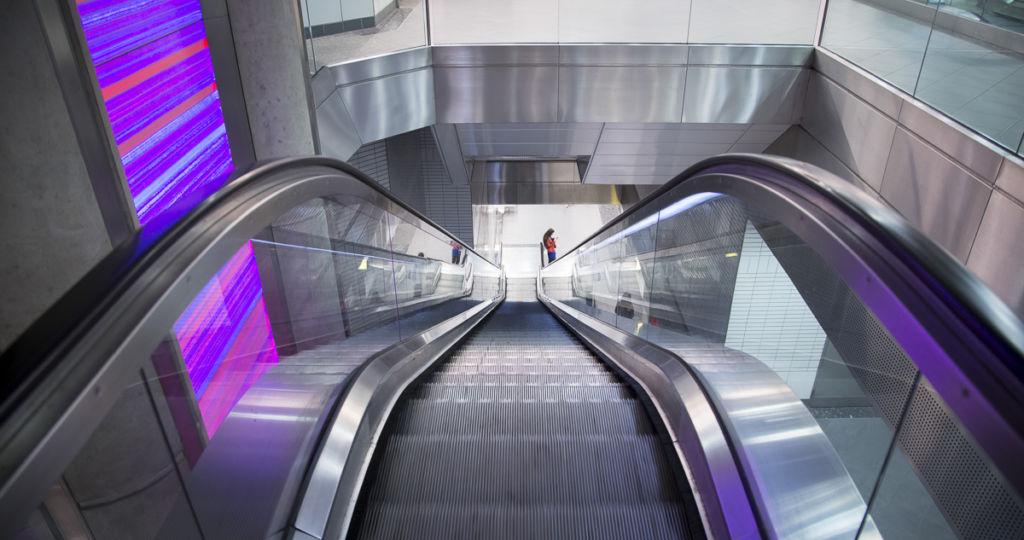 Ligne B du métro de Toulouse entre Borderouge et Jeanne d'Arc - Client : Dodin Campenon Bernard