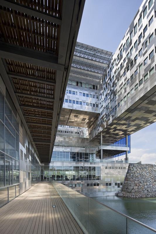 Hôtel de Ville de Montpellier - Client : Kawneer