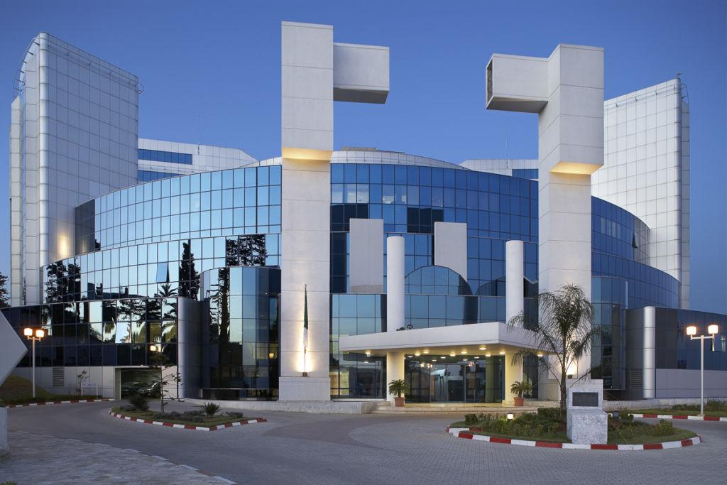 Ministère de l'économie et des finances, Alger, Algérie - Client : Kawneer