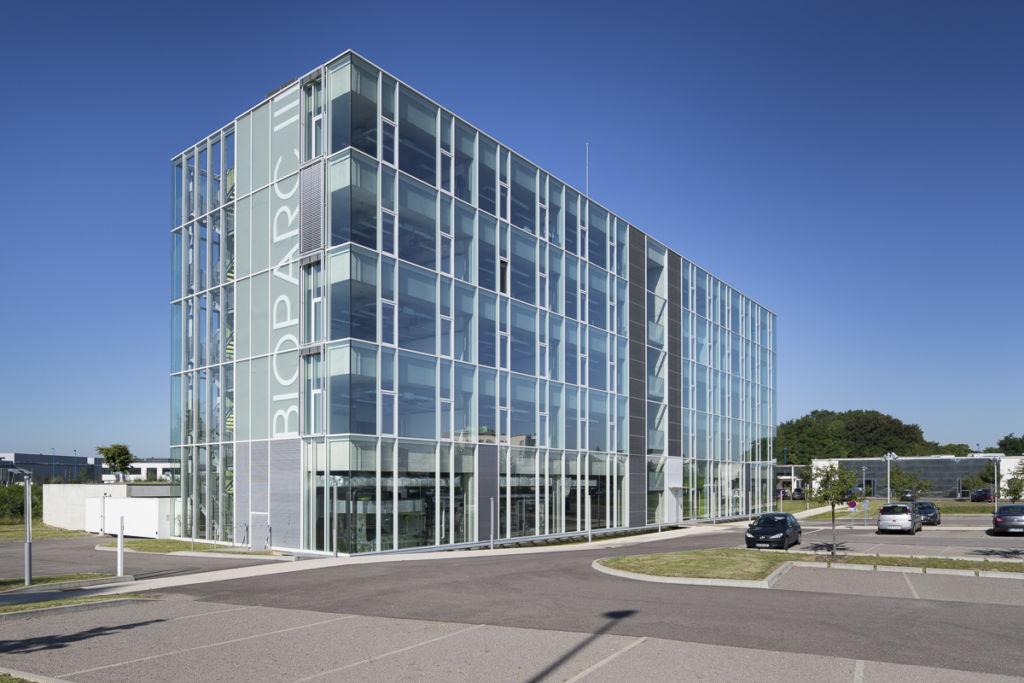Immeuble de bureaux Bioparc 3 à Illkirch-Graffenstaden - Client : Kawneer