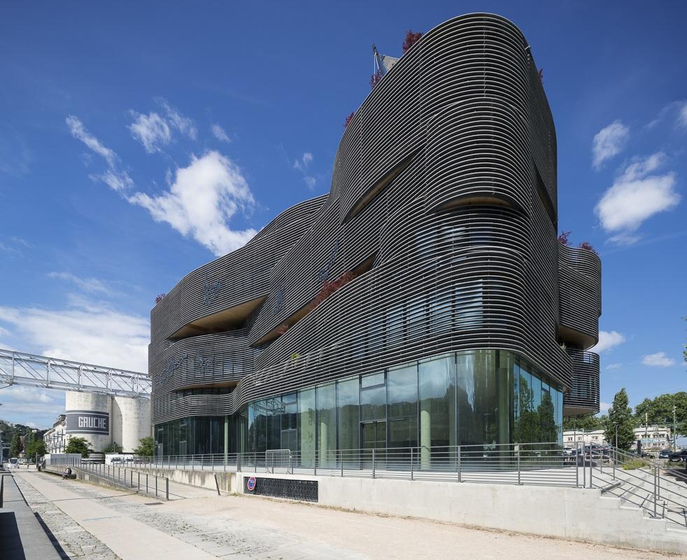 Immeuble de bureaux Pavillon 52 à Lyon - Client : Kawneer