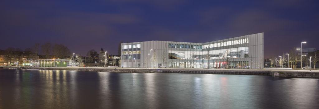 Immeuble de bureaux de la Presqu'île de Caen - Client : Agathe Argod
