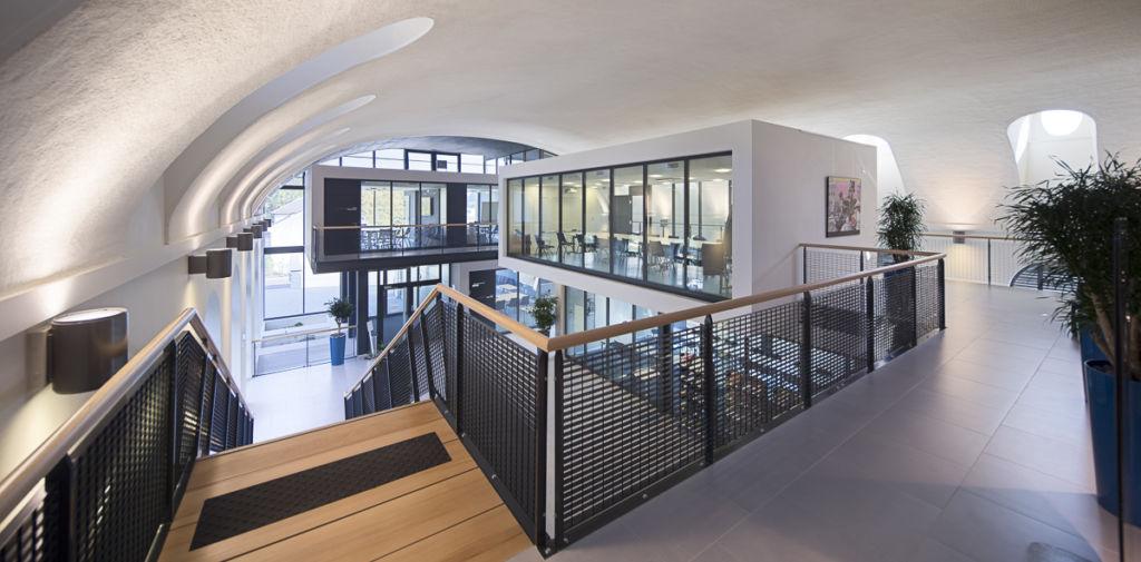 """Immeuble de bureaux """"Tri Postal"""" de la région Alsace à Mulhouse - Client : Agence d'architecture DRLW"""