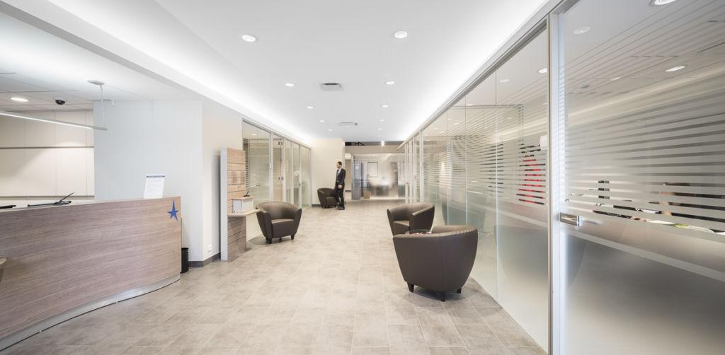 Banque Courtois à Montauban - Client : LCR Architectes