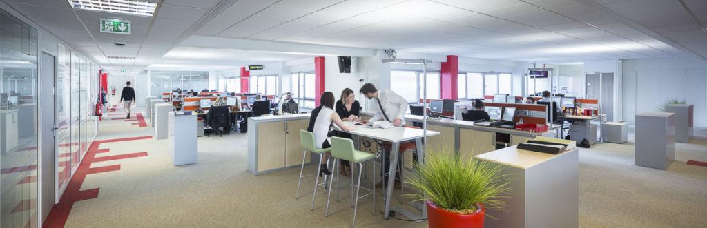 Immeuble de bureaux Lexea au Mans