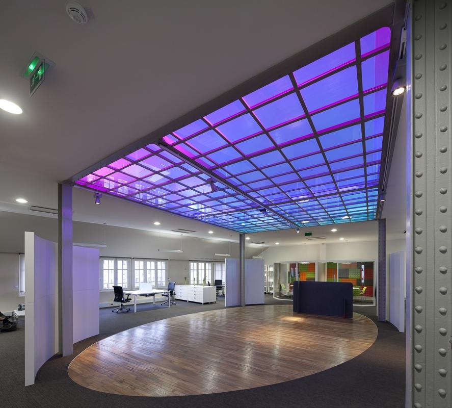 Bureaux Haworth à Paris - Client : Philips Lighting