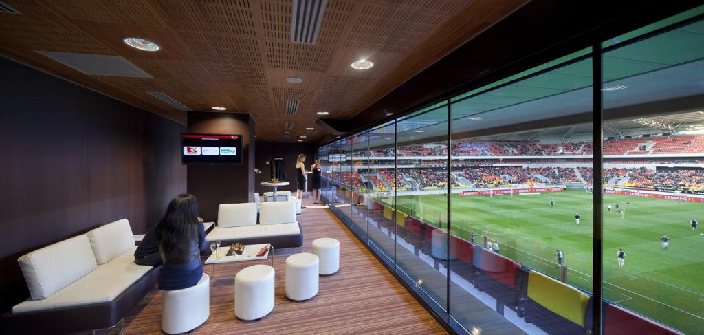 Stade MM Arena au Mans - Client : Philips Lighting