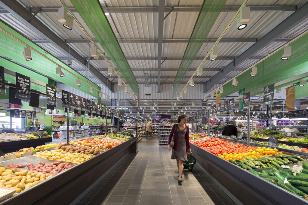Supermarché Match à Chaumont en Vexin - Client : Osram