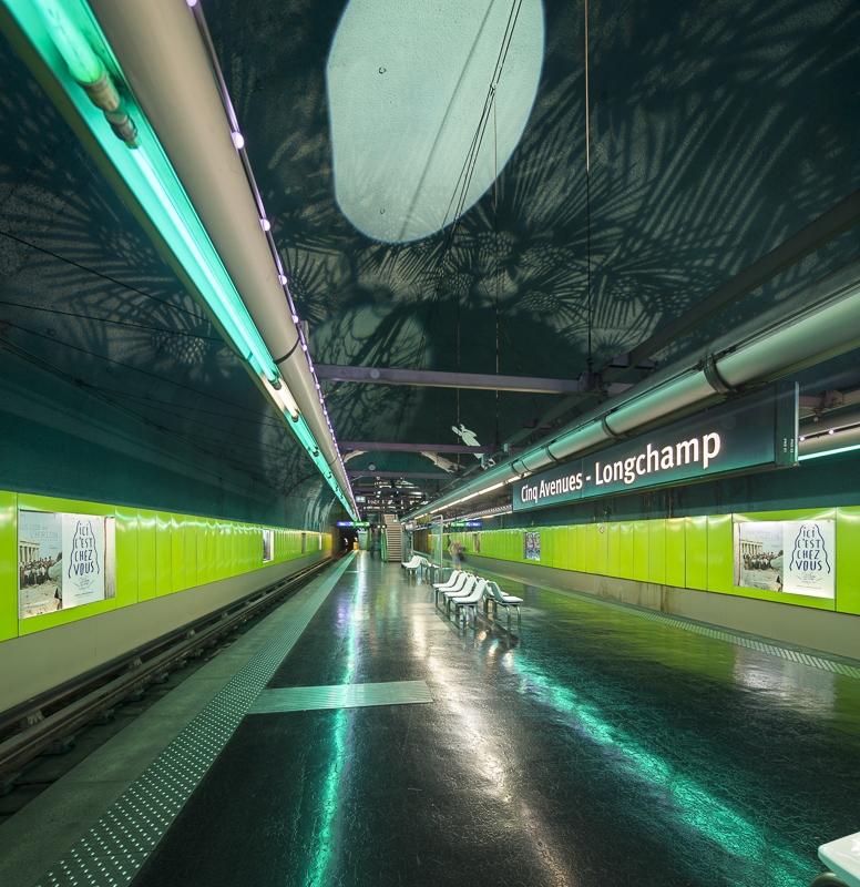 Métro de Marseille - Client : Philips Lighting