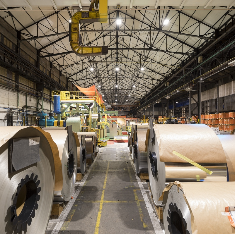 Arcelor Mittal à Basse Indre - Client : Signify