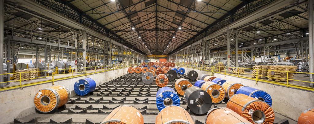 Arcelor Mittal de Reims - Client : Signify