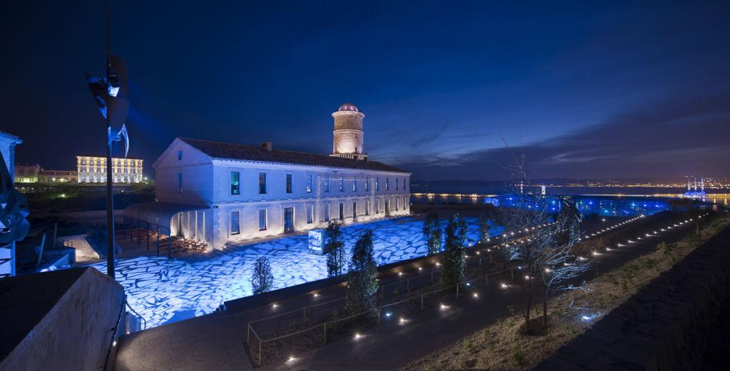 Fort Saint-Jean - Client : Citeos - Conception lumière : Régis Clouzet, L'Agence Lumière