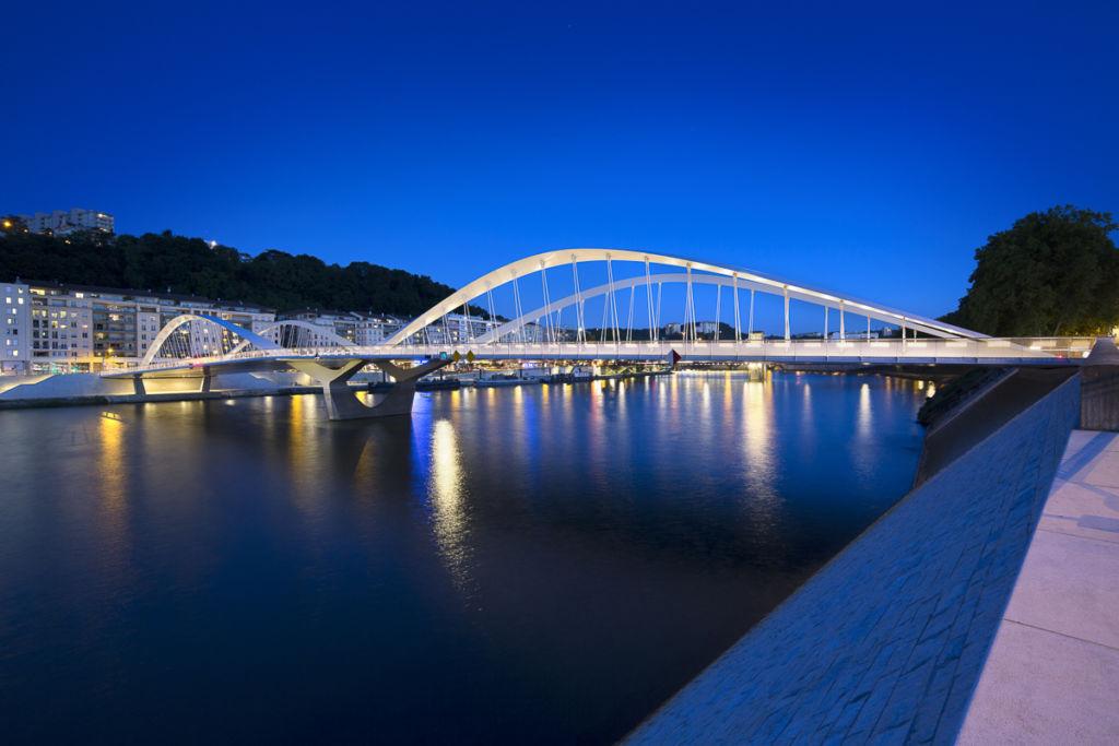 Pont Maurice Schuman à Lyon - Client : Citeos