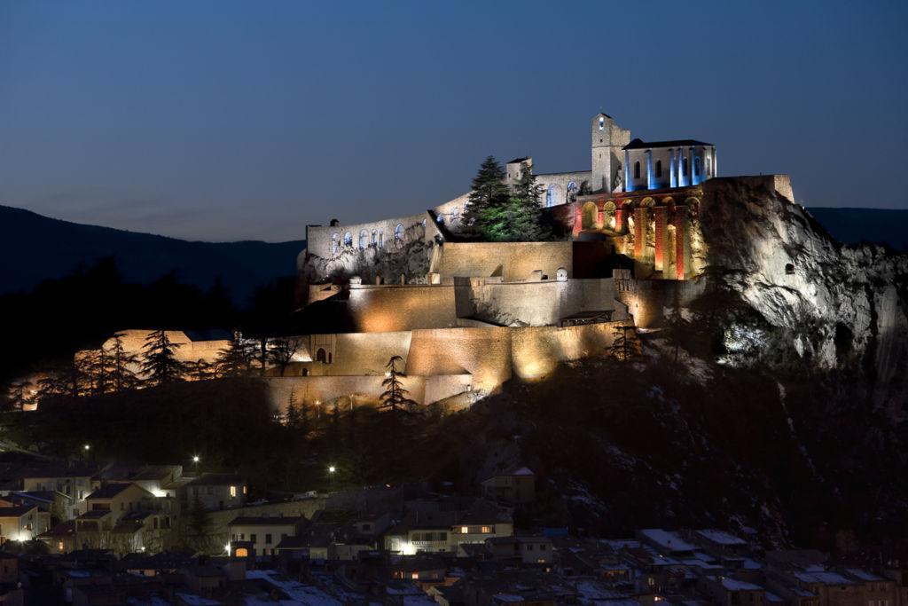 Citadelle de Sisteron - Client: Spie - Concepteur lumière : William Sanial