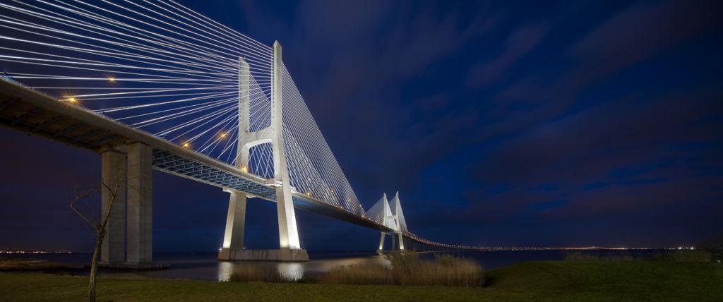 Pont Vasco de Gama à Lisbonne (Portugal) - Client : Vinci