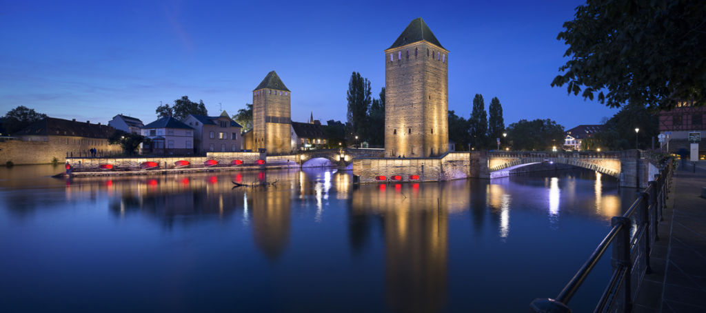 Barrage Vauban à Strasbourg - Client : Philips Lighting