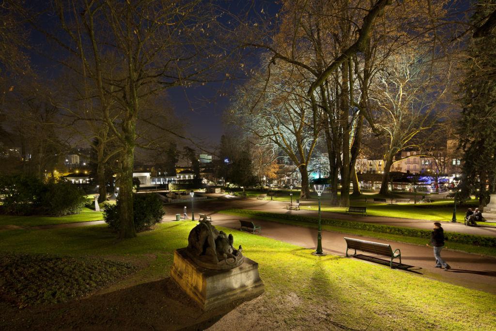 Jardin public à Aix les Bains - Client : Citeos