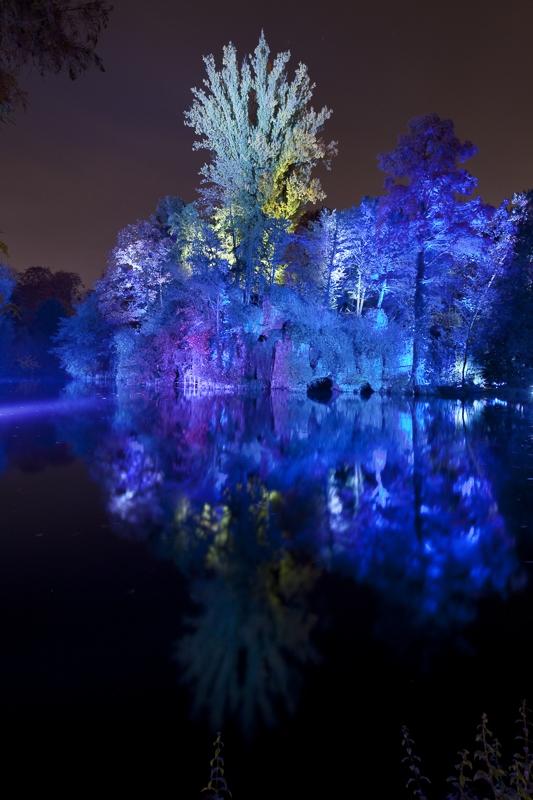 Parc de l'Orangerie à Strasbourg - Client : Philips Lighting