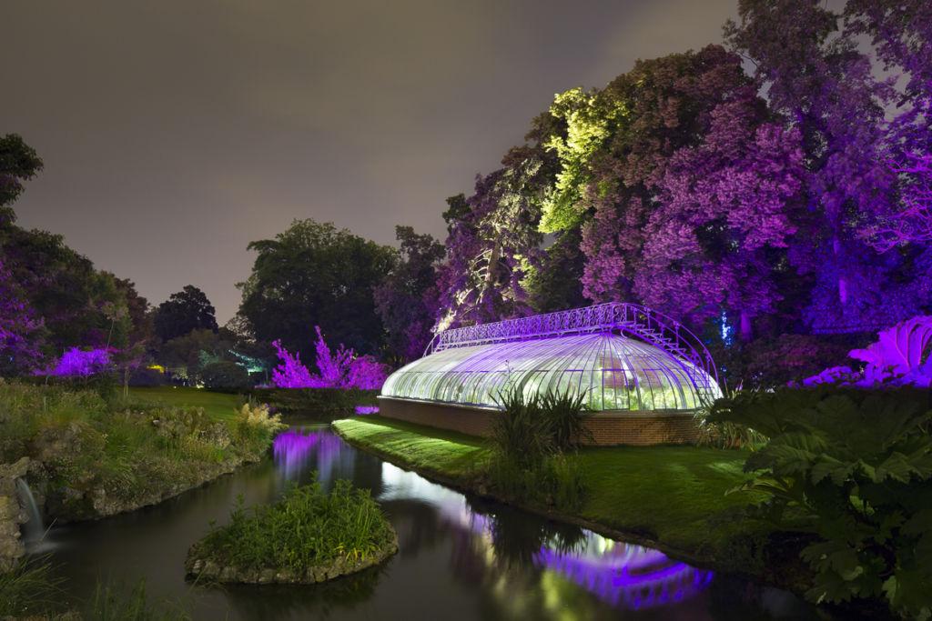 Jardin botanique de Nantes - Client : Philips Lighting