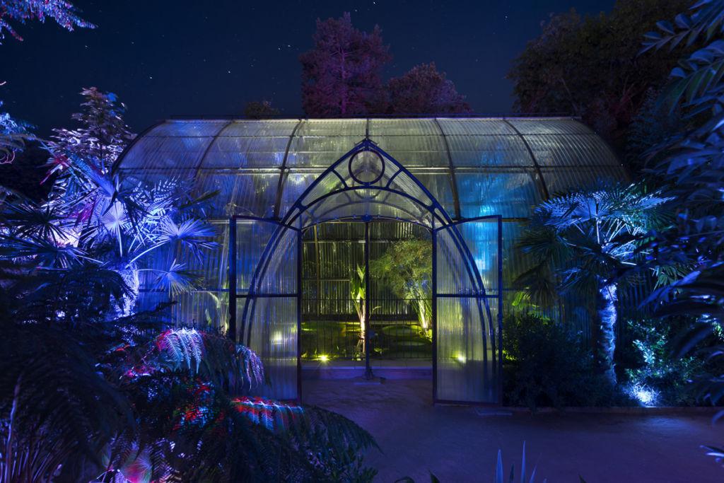 Festival des Jardins à Chaumont sur Loire - Clients : Citeos / Philps Lighting - Concepteur Lumière : Lyum